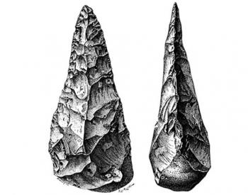 Acheulian hand-axe