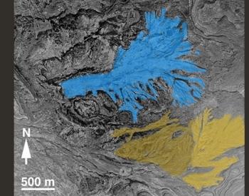 Evidence of water-laid rocks on Mars.