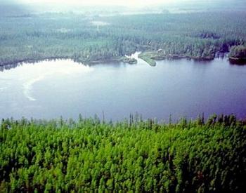 Lake Cheko, Siberia