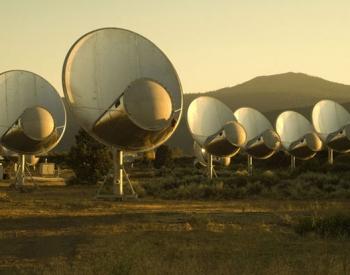 SETI radio telescopes, California
